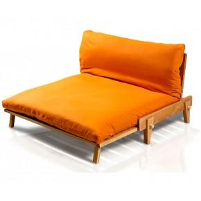 Coprifuton con cerniera su tre lati, color mandarino