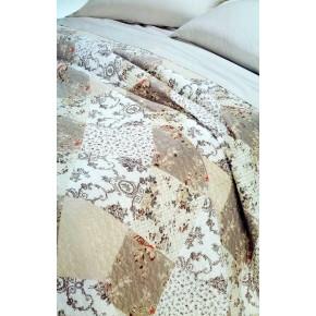 Trapuntino in cotone stampato Cotton Joy 250 x 260 cm fantasia anouk