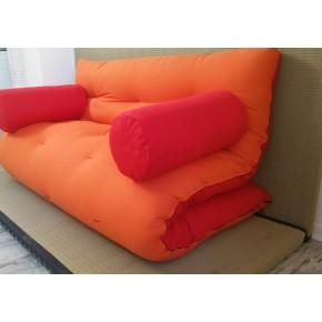Divano letto futon double face