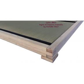 Letto ecologico in legno di frassino massello JBED